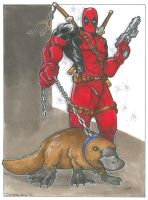 Deadpool Platypus by Iconograph
