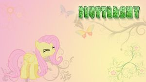 Fluttershy wallpaper by AK71
