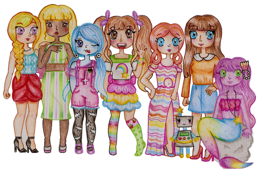 The Candream Girls by Maddie-Pie