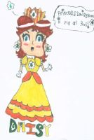 Princess Daisy says i am her #1 fan again...... by PrincessDaisyRocks10