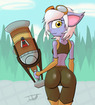 Tristana the Booty Gunner by Nephrited