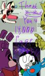 14,000 PAGEVIEWS!! by InvaderAllieNinja