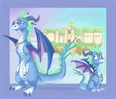 Remus The Dragon by ZombiDJ
