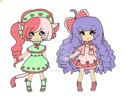 Beauty adopts~closed by Chibii-chii
