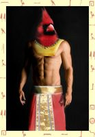 Redvinken Contest egyptian god by Wolfguardian