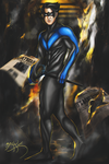 Nightwing by Snhussain