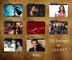 TV Shows Folder Pack by 3o1415