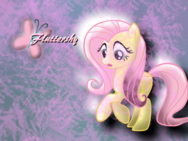 Fluttershy Background by Frankie-pop