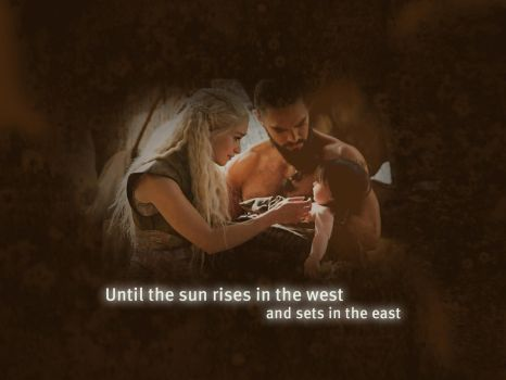 Daenerys and Drogo by Copper-Moon
