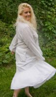 Susannah in White 9 by HauntingVisionsStock