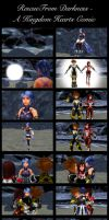 Kingdom Hearts - Rescue From Darkness (Comic) by rev-rizeup