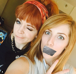 Lindsey Gags Her Friend by MouthlessWonder