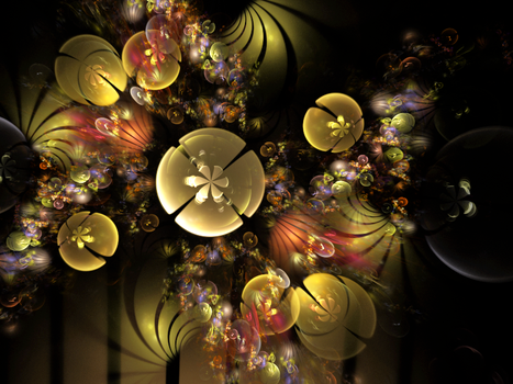 Bunny Clarke's 3d Faerie Blossom Jwildfire by brookville