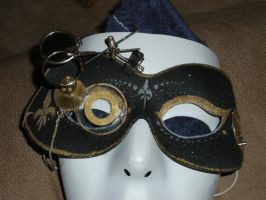 Steampunk Mask by kamiiyu