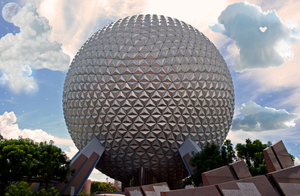 Epcot Wallpaper by WDWParksGal