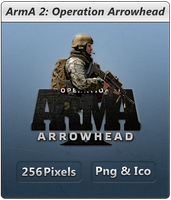 ARMA2 Operation Arrowhead Icon by Crussong