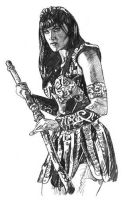 Xena Sketch by ssava