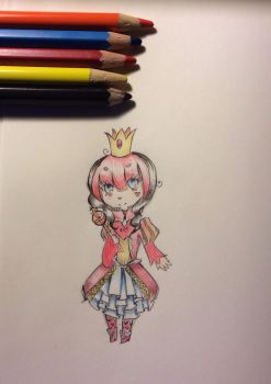 Colored Red Queen by UmbrellaScylla