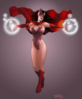 Scarlet Witch by jaxtraw2