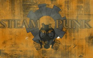 Steampunk Wallpaper by Dreamcraeft