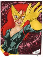 Marvel Girl by KidNotorious by Blindman-CB