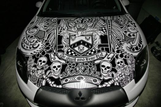 Sharpie Car by jaredtheashby