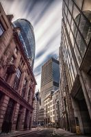 Gherkin Tower - London by dynamick