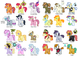 TFIM CMC And Foals Color Guide by StarryOak