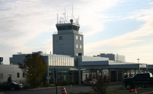Airport Tower: Binghamton, NY by TomFawls