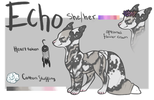 [SAFE MYO - Unapproved] Echo by DarlingJess