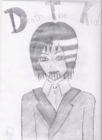 Death The Kid Grim Reaper by JessicaL98000