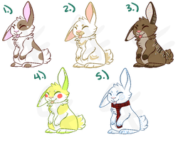 Bunny Adopts by rradive