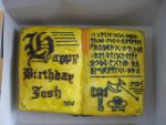 Rune Spellbook Cake by heartthedead