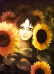 Itachi-The child in sunflowers by KarlaFrazetty