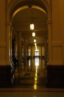Just down the hall... by Genuine-Atramentous