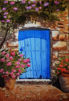 The blue door by nnicc