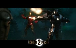 ironman and warmachine engage by rorschachcraig