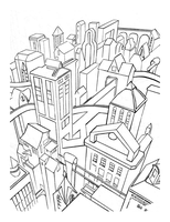 Gotham Skyview by Writer-Colorer