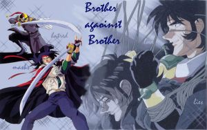 Brother against Brother by Enzeru-kun