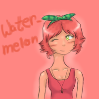 Watermellon Dollicious Fan Art by CupcakeCarmen123