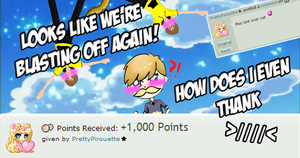 1000 POINTS?!!?!? WHAT!!! (Donation) by Vendus