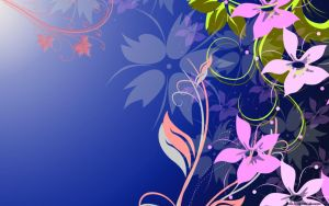 Floral Wallpaper by alk4
