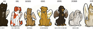 SPN dogs-Angels by FourDirtyPaws