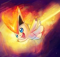 Victini Speed Paint by Srarlight