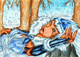 Wintaria, the Frozen Lady. by Shiranui94
