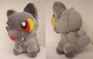 Poochyena Pokedoll by GlacideaDay