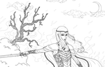 Thranduil - Battle Under The Trees by RoseDragonfire