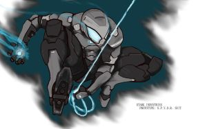 Fanfic Stark Spidy Armor by pmcconnolly