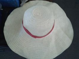 My Homemade Luffy Hat! by XfangheartX