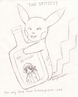 Ash Ketchup -- WIP by FantasyVentriloquist
